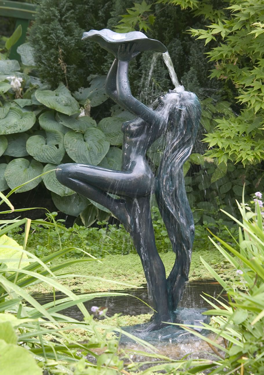 Rachel Green Verdis Effect Lady Garden Pond Water Feature