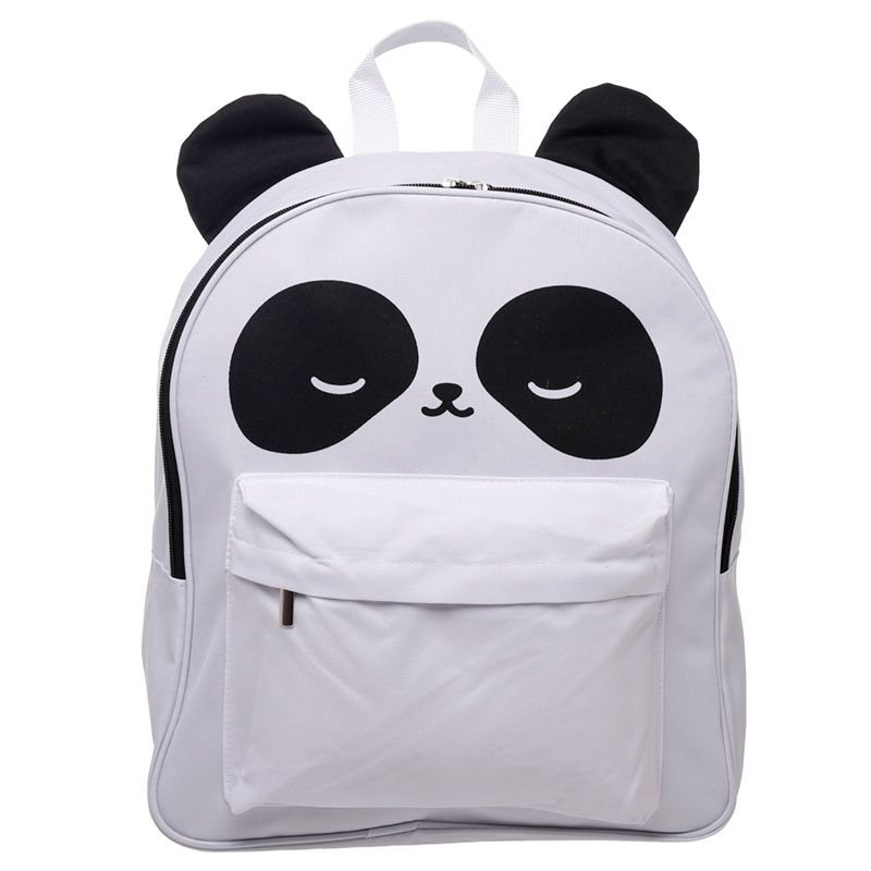 Children's Fun & Colourful Polyester Backpack - Panda