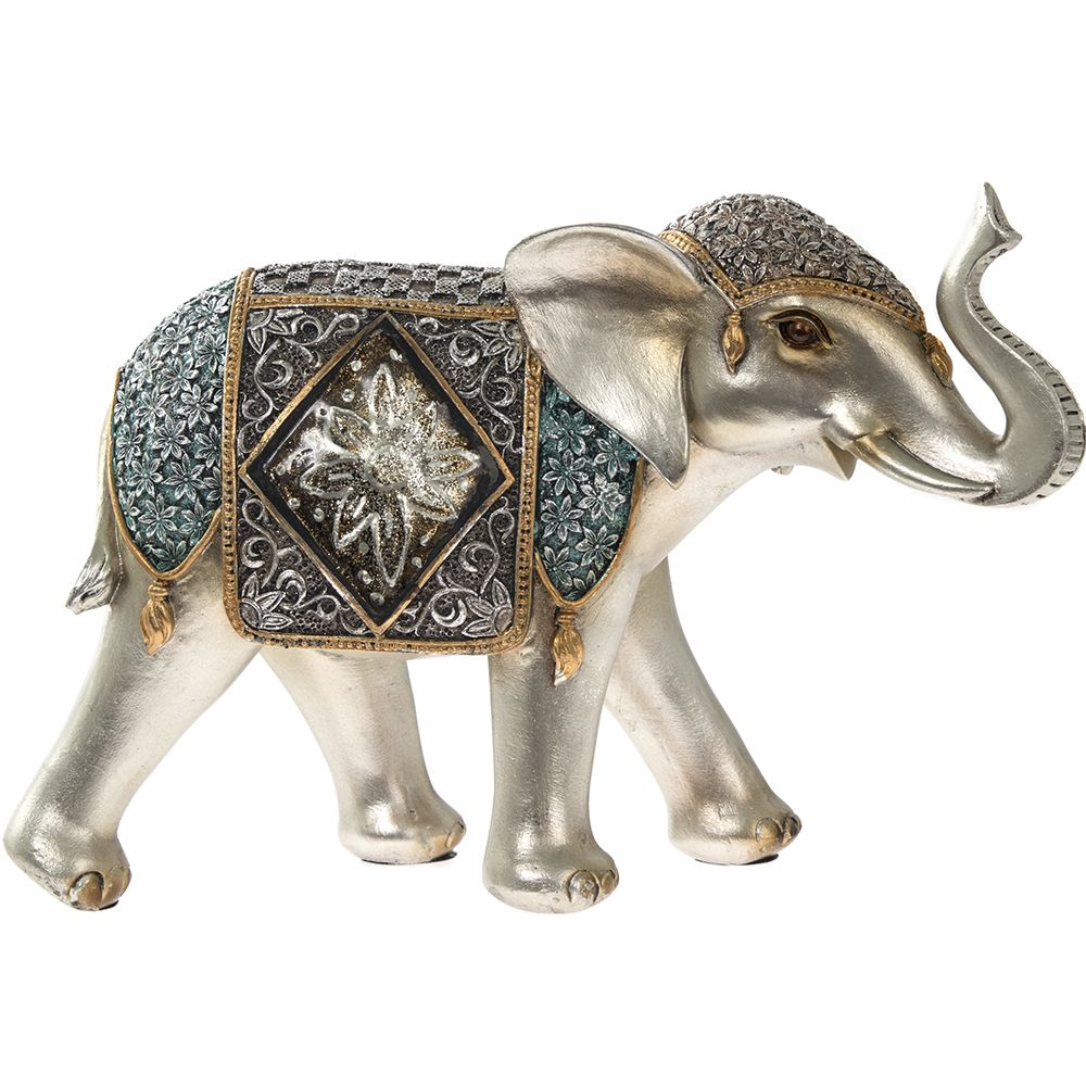 Exotic Art Decorative Elephant Figurine