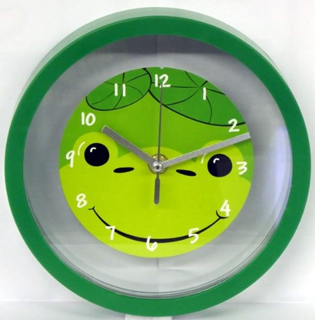 Happy Frog Children\'s Bedroom Wall Clock