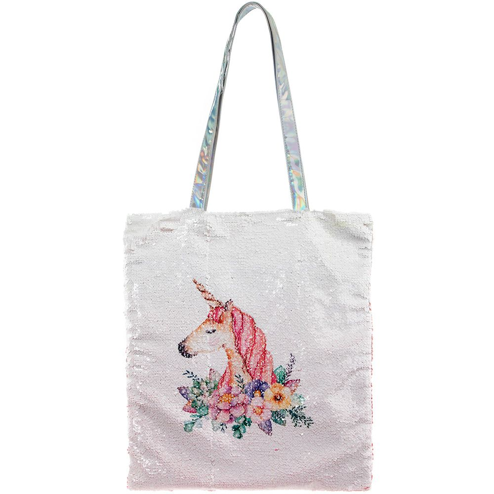 Large Magic Sequin Unicorn  Shopper Bag