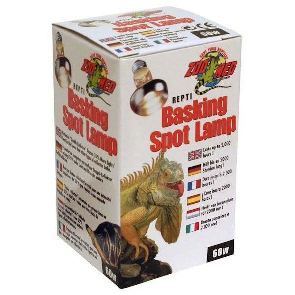 Zoomed Reptile Basking Spot Lamp 60w